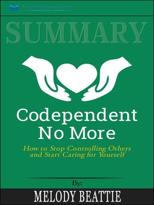 cover image of Summary of Codependent No More