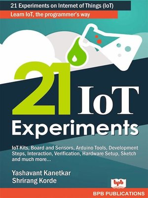 cover image of 21 IoT Experiments