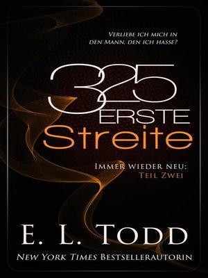 cover image of 325 Erste Streite