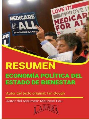 cover image of Resumen de Economía Política del Estado de Bienestar