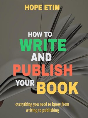 cover image of How to Write and Publish Your Book