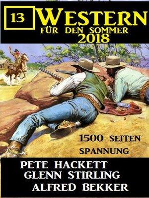 cover image of 13 Western für den Sommer 2018