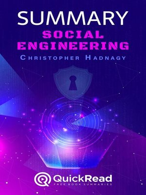 """cover image of Summary of """"Social Engineering"""" by Christopher Hadnagy"""