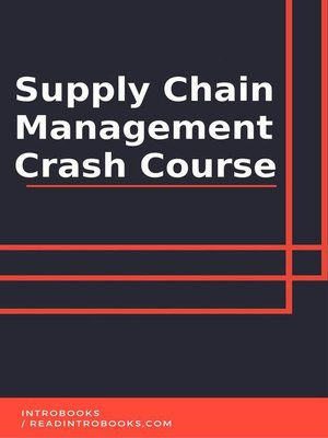 cover image of Supply Chain Management Crash Course