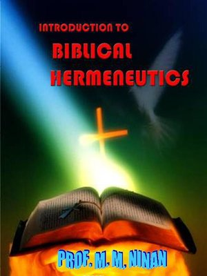 cover image of Introduction to Biblical Hermeneutics