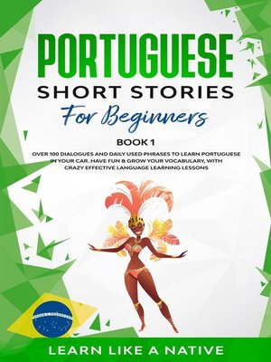 cover image of Portuguese Short Stories for Beginners Book 1