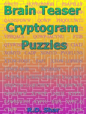 cover image of Brain Teaser Cryptogram Puzzles