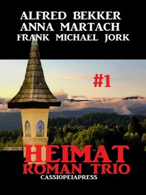cover image of Heimatroman Trio #1