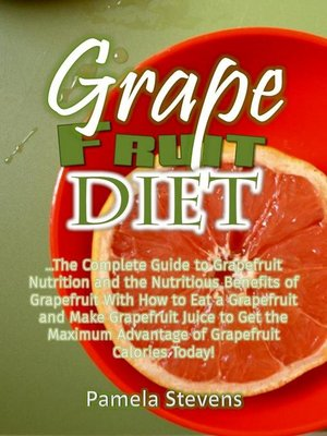cover image of Grapefruit Diet