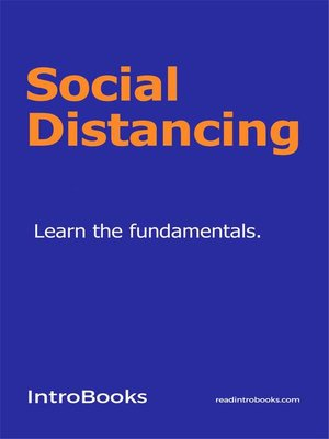 cover image of Social Distancing
