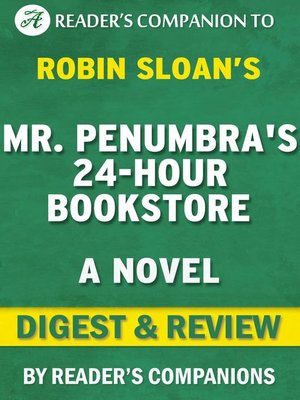 cover image of Mr. Penumbra's 24 Hour Bookstore