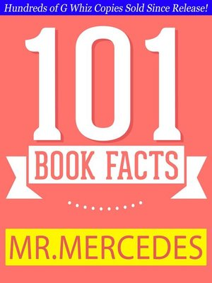 cover image of Mr. Mercedes--101 Amazing Facts You Didn't Know