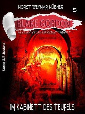 cover image of Blake Gordon #5