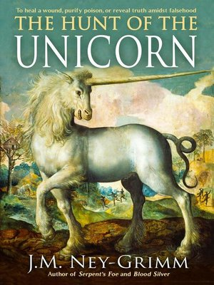 cover image of The Hunt of the Unicorn