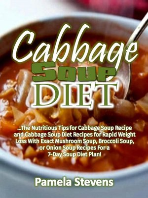 cover image of Cabbage Soup Diet