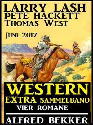 cover image of Western Extra Sammelband Vier Romane Juni 2017