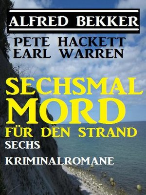cover image of Sechsmal Mord für den Strand