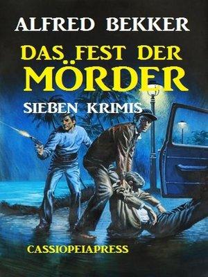 cover image of Das Fest der Mörder