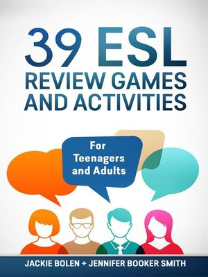 cover image of 39 ESL Review Games and Activities