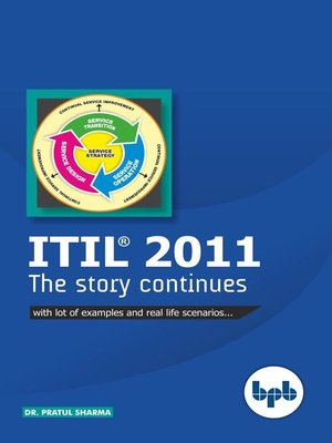 cover image of ITIL® 2011 the Story Continues