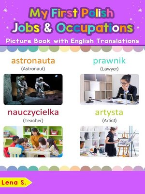cover image of My First Polish Jobs and Occupations Picture Book with English Translations