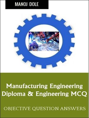 cover image of Manufacturing Engineering
