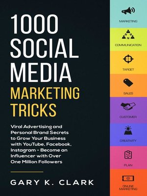 cover image of 1000 Social Media Marketing Tricks in 2019