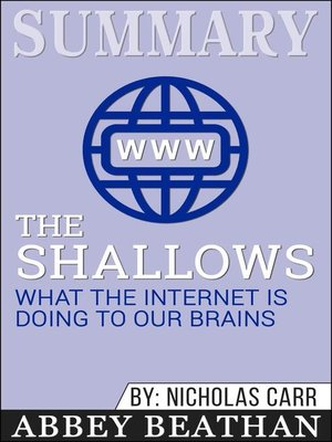 cover image of Summary of the Shallows