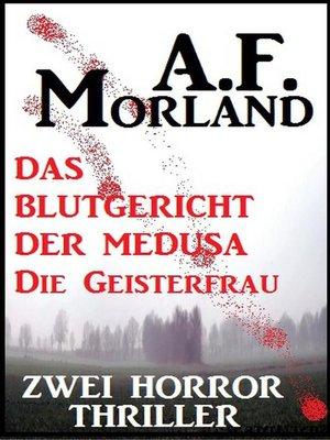 cover image of Zwei Morland Horror Thriller