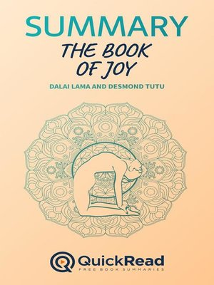 """cover image of Summary of """"The Book of Joy"""" by Dalai Lama and Desmond Tutu"""