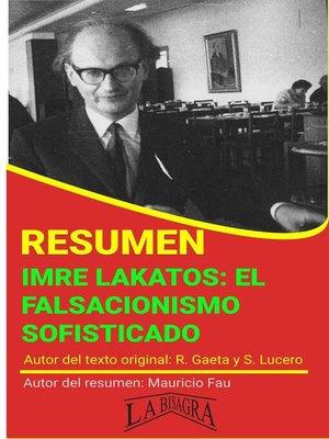 cover image of Resumen  de Imre Lakatos