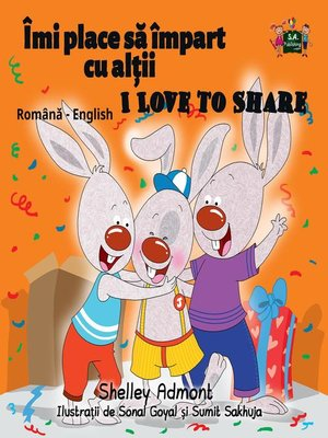 cover image of Îmi place să împart cu alții I Love to Share