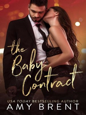 cover image of The Baby Contract