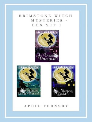 cover image of Brimstone Witch Mysteries--Box Set 1