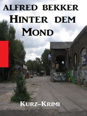 cover image of Hinter dem Mond