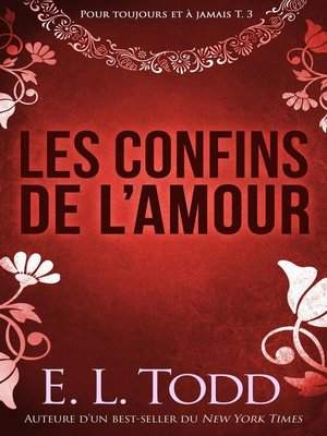 cover image of Les confins de l'amour