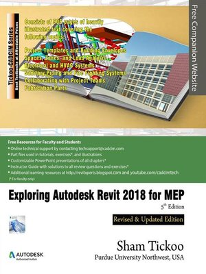 cover image of Exploring Autodesk Revit 2018 for MEP