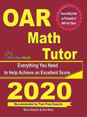 cover image of OAR Math Tutor