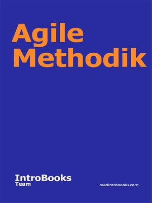 cover image of Agile Methodik