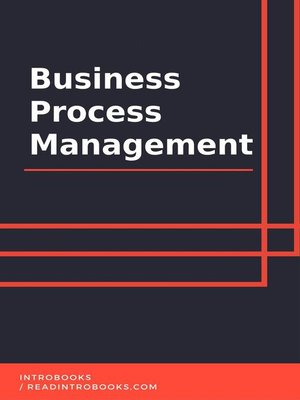 cover image of Business Process Management