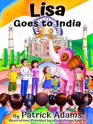 cover image of Lisa Goes to India
