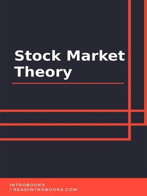 cover image of Stock Market Theory
