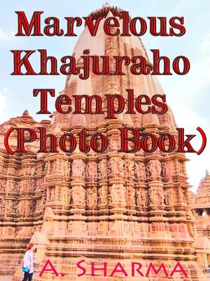 cover image of Marvelous Khajuraho Temples  (Photo Book)