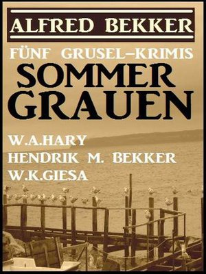 cover image of Sommer-Grauen
