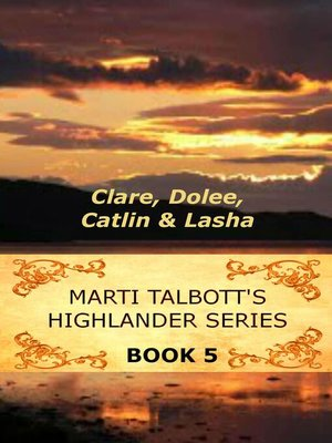 cover image of Marti Talbott's Highlander Series 5