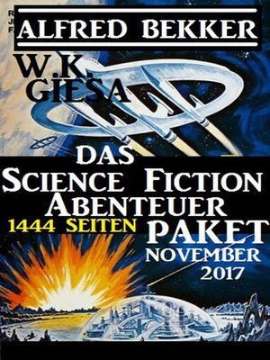 cover image of Das 1444 Seiten Science Fiction Abenteuer Paket November 2017