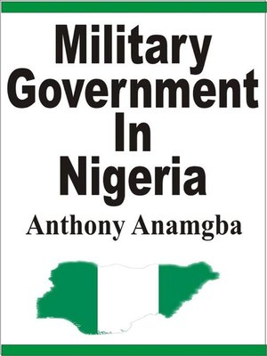 cover image of Military Government in Nigeria