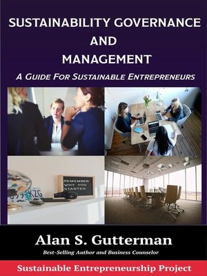 cover image of Sustainability Governance and Management