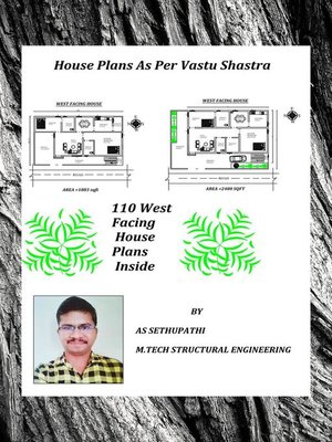 cover image of House Plans As Per Vastu Shastra (110 West Facing House Plans Inside)