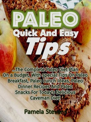 cover image of Paleo Quick and Easy Tips